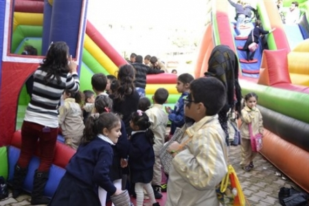 LAU Byblos Campus Minions Fair, Part 1 of 2