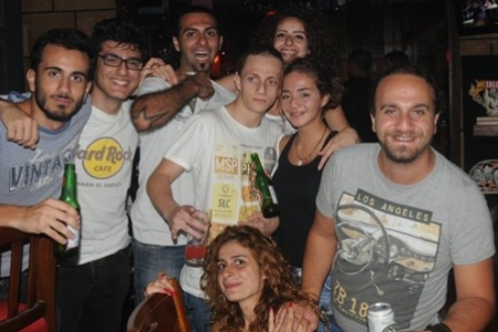 Weekend at Rock Stock Pub, Byblos